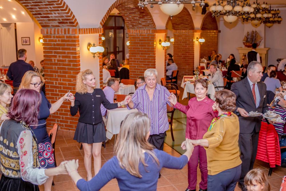 Romanian restaurant in Bucharest
