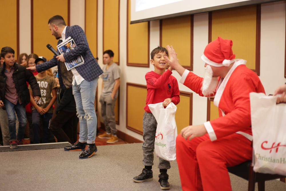 Crăciun dedicat copiilor instituționalizați