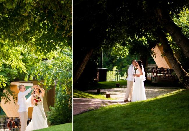 Nunta în aer liber în București; primăvara, e povestea ta la Caro!