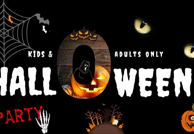 Party Halloween pentru copii și părinți