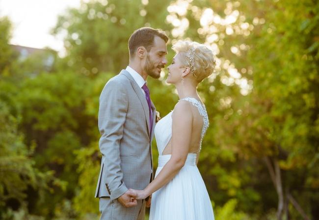 nunta in aer libr