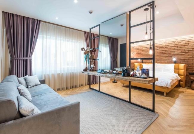 Junior Suite Caro Hotel Bucharest