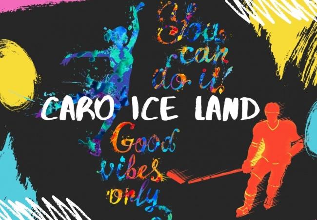 Patineaza in aer liber Caro Ice Land