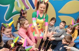 Activități pentru copii la Caro cu Teatrul Zurli