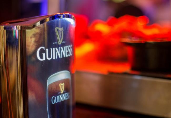 Lucky you, it's Irish night!