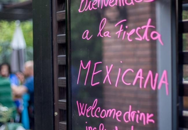 Bienvenidos a la Fiesta Mexicana!